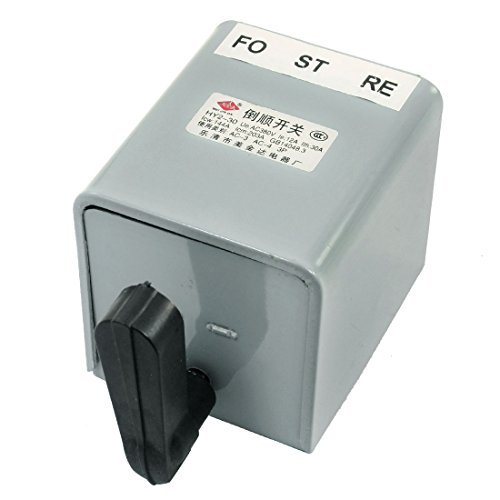 Water & Wood Hy2-30 30A Reversing Drum Switch Forward Stop Reverse Motor Control