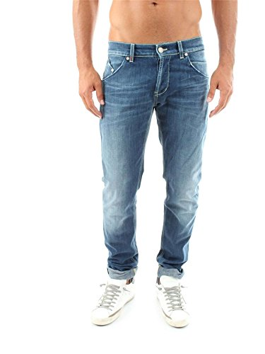 DONDUP SAMMY UP073 DS107U DENIM JEANS Uomo DENIM 31
