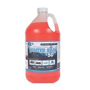 Motorhome Anti-Freeze RV AntiFreeze Potable Water Tank Systems Winter Ban -50 Below Protection (1 Gallon Jug)