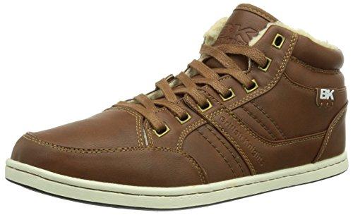 British Knights RE-STYLE MID, Sneaker alta Uomo, Marrone (Braun (cognac SMU05)), 44