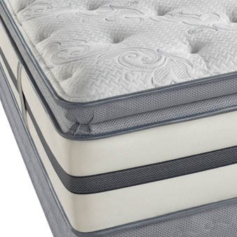 Full Simmons Beautyrest Recharge Monument Valley Luxury Firm Pillow Top Mattress front-1045950
