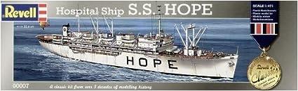 Maquette USS Hope, navire hopital