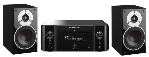 Review and Buying Guide of The Best Marantz MCR610 Black with Dali Zensor 1 Black (R)