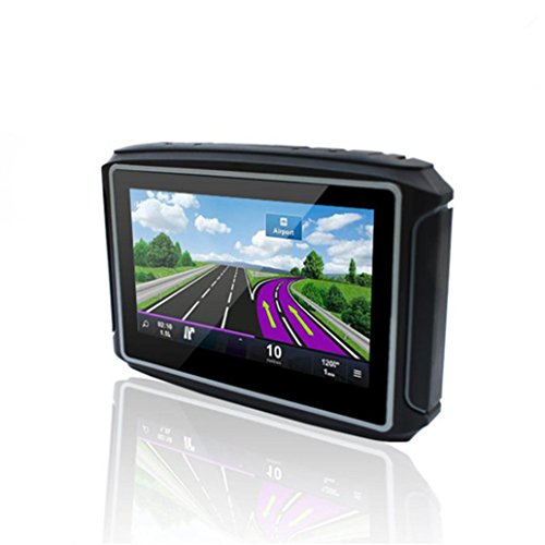 Naladoo 4.3 inch Motorcycle GPS Navigator 8GB Support Multi-Languages riding (Shark Navigation Lift Away Dlx compare prices)