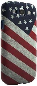 Proporta - Carcasa rígida para Samsung Galaxy SIII, diseño de bandera estadounidense