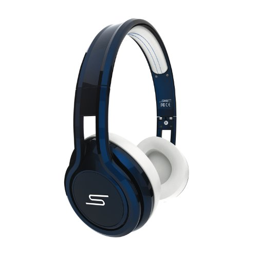 SMS STREET by 50 Cent Headphones (Blue)