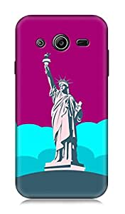 Samsung Galaxy Core 2 3Dimensional High Quality Designer Back Cover by 7C