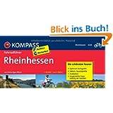 Rheinhessen: Fahrradführer mit Top-Routenkarten im optimalen Maßstab