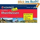 Rheinhessen: Fahrradführer mit Top-Routenkarten im optimalen Maßstab.