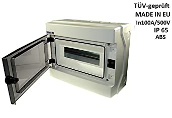 verteilerkasten rh 6 feuchtraumvert eiler 6 module ap ip65 sicherungskasten us48. Black Bedroom Furniture Sets. Home Design Ideas