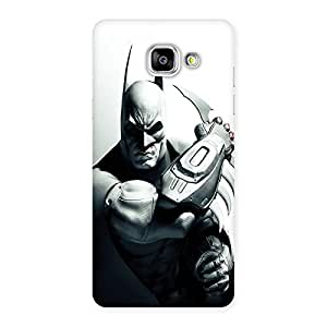 Ajay Enterprises Bat Ready for Action Back Case Cover for Galaxy A5 2016