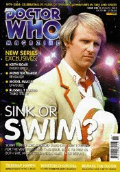 Doctor Who The Official Magazine Issue #346 18 August 2004 5th Doctor Peter Davison