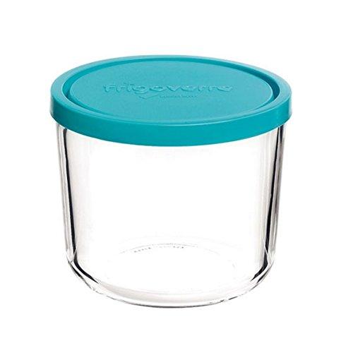 Contenitore per alimenti in vetro TEMPERATO conservare frigorifero freezer Bormioli Frigoverre 15 Alta