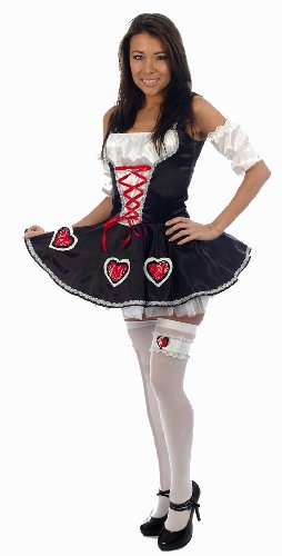 Queen of Hearts Sexy Ladies Fancy Dress Costume