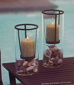 Essential Home Essence Hudson Set of 2 Candle Holders