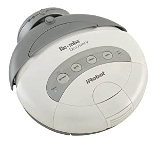 iRobot Roomba 4210 Discovery Vacuuming Robot, White