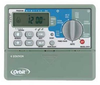 Orbit Sprinkler System 4-Station Standard Indoor Mounted Control Timer #57114 (Orbit Sprinkler Timer 4 Station compare prices)