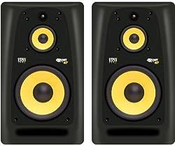 KRK Rokit Powered 10-3 Pair Mid-Field 3-Way Powered Studio Monitors - 10 Inch by KRK