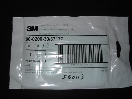 3M ohesd 9100xx speedgls; inside prot plate 5/ca [PRICE is per CASE] 1206 3 3m 335 5
