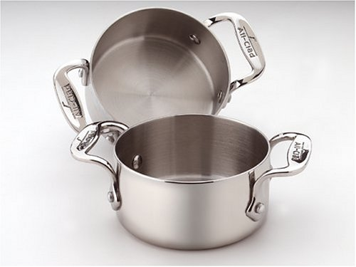 All-Clad Stainless 1/2-Quart Soup/Souffle Ramekins, Set of 2