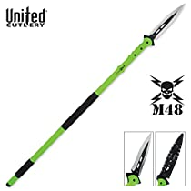 United Cutlery UC2988 M48 Apocalypse Undead Survival Spear with Molded Sheath