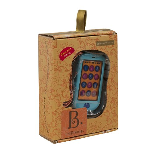 B. HiPhone. Touch Screen Toy Cell Phone with Realistic Smart Phone Features. Teaches Numbers, Records and Plays Back Messages, and Even Calls You!