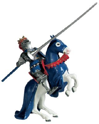 Buy Knight with Lance and Blue Shield