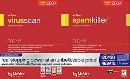 VirusScan 8.0 and SpamKiller 5 Bundle