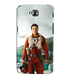 Omnam Man In Aviation Dress Printed Back Cover Case For LG G Pro Lite