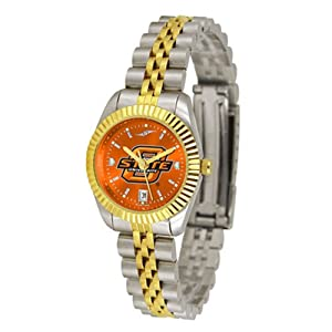 Oklahoma State Cowboys NCAA AnoChrome Executive Ladies Watch by SunTime