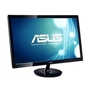 Asus VS238N 58,4 cm (23 Zoll) Monitor (DVI, 5ms Reaktionszeit) schwarz