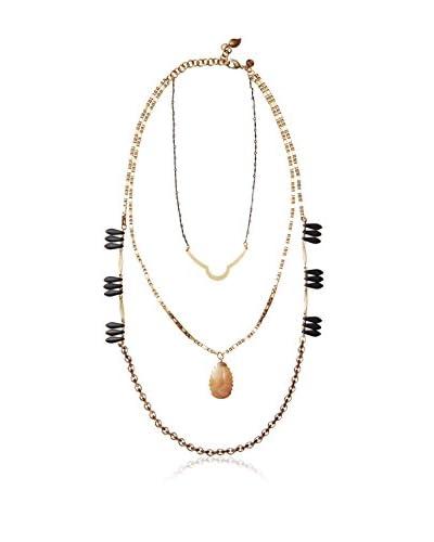 David Aubrey Multi-Layer Multi-Stone Necklace