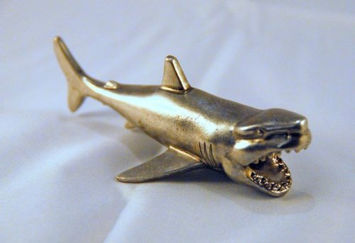 New Shark Poker Figurine