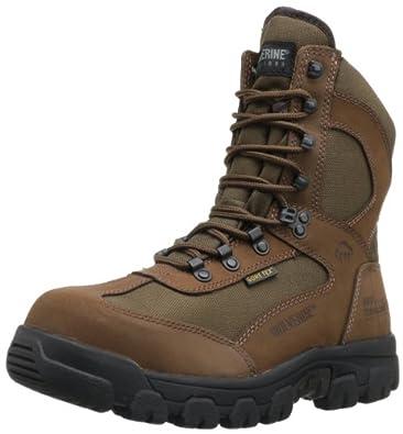 Wolverine Men's Big Bison Steel Toe Hunting Boot,Brown,8 M US