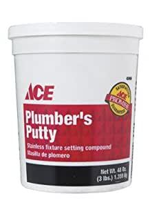 Putty plumbers 3 pkg of 5 for Plumbers putty