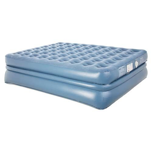 Beautiful Aerobed Queen Size Raised Quadra Coil Air Mattress Inflatable Bed