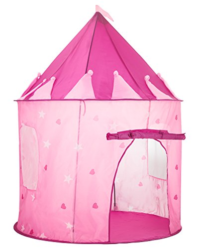 Toyniverse-Girls-Pink-Play-Tent-Princess-Castle-with-Glow-In-The-Dark-Stars-413-X-492