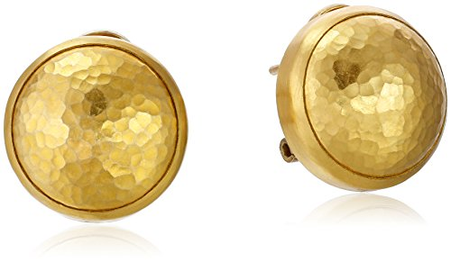 GURHAN-Amulet-Yellow-Gold-Button-Earrings
