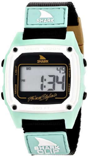 Freestyle Men's 103326 Shark Classic Clip Digital Display Japanese Quartz Black Watch (Shark Freestyle Watches compare prices)