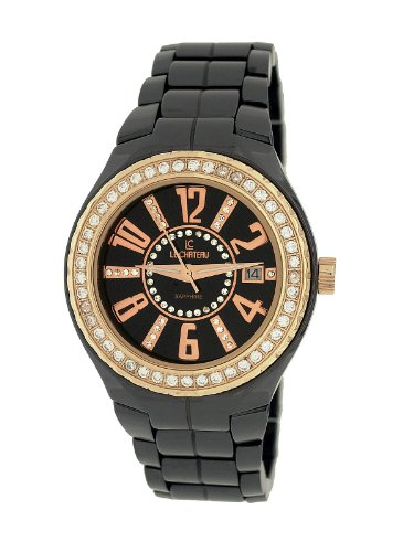 Le Chateau Women's 5871wsrse_blk Persida LC Ceramic Watch
