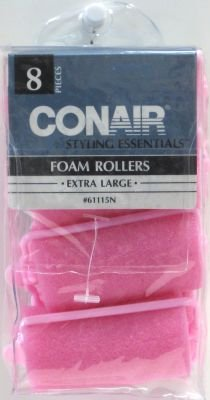 Extra Large Foam Rollers 8-Count (4-Pack) (Conair Foam Rollers Extra Large compare prices)