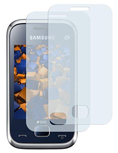 2 x mumbi Displayschutzfolie Samsung Rex 60 Schutzfolie