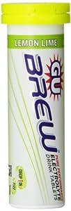 Gu Energy Labs Brew Tablets, Lemon Lime Box, 1.65 Pound
