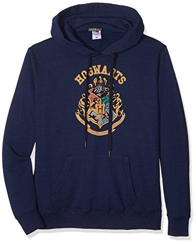 Plastic Head Harry Potter Crest Ghsw, Felpa Donna, Blu, 46