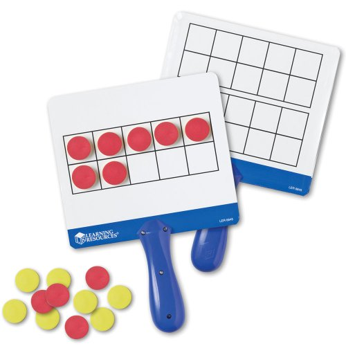Learning Resources Magnetic Ten Frame Boards front-67033