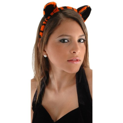 Tiger Ears and Tail Set Costume Accessory