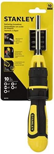 Stanley-68-010-Multibit-Ratcheting-Screwdriver-with-10-Assorted-Bits
