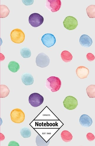 gmco-notebook-journal-dot-grid-lined-graph-120-pages-55x85-cute-christmas-color-circles