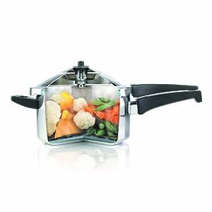 Kuhn Rikon Stainless Steel Pressure Cooker 3344 7-3/8-Quart