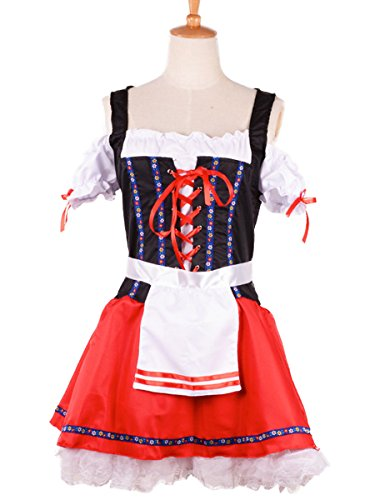 Wraith of East Beer Girl Costume Women Adult Sexy Dress